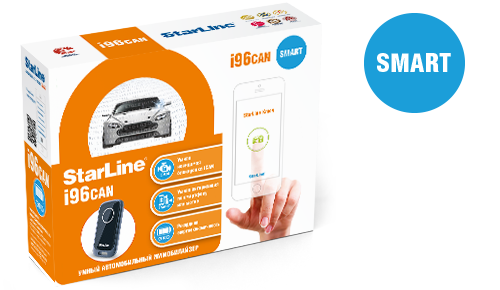 StarLine i96can Smart